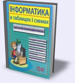 Інформатика в таблицях і схемах для учнів початкових класів